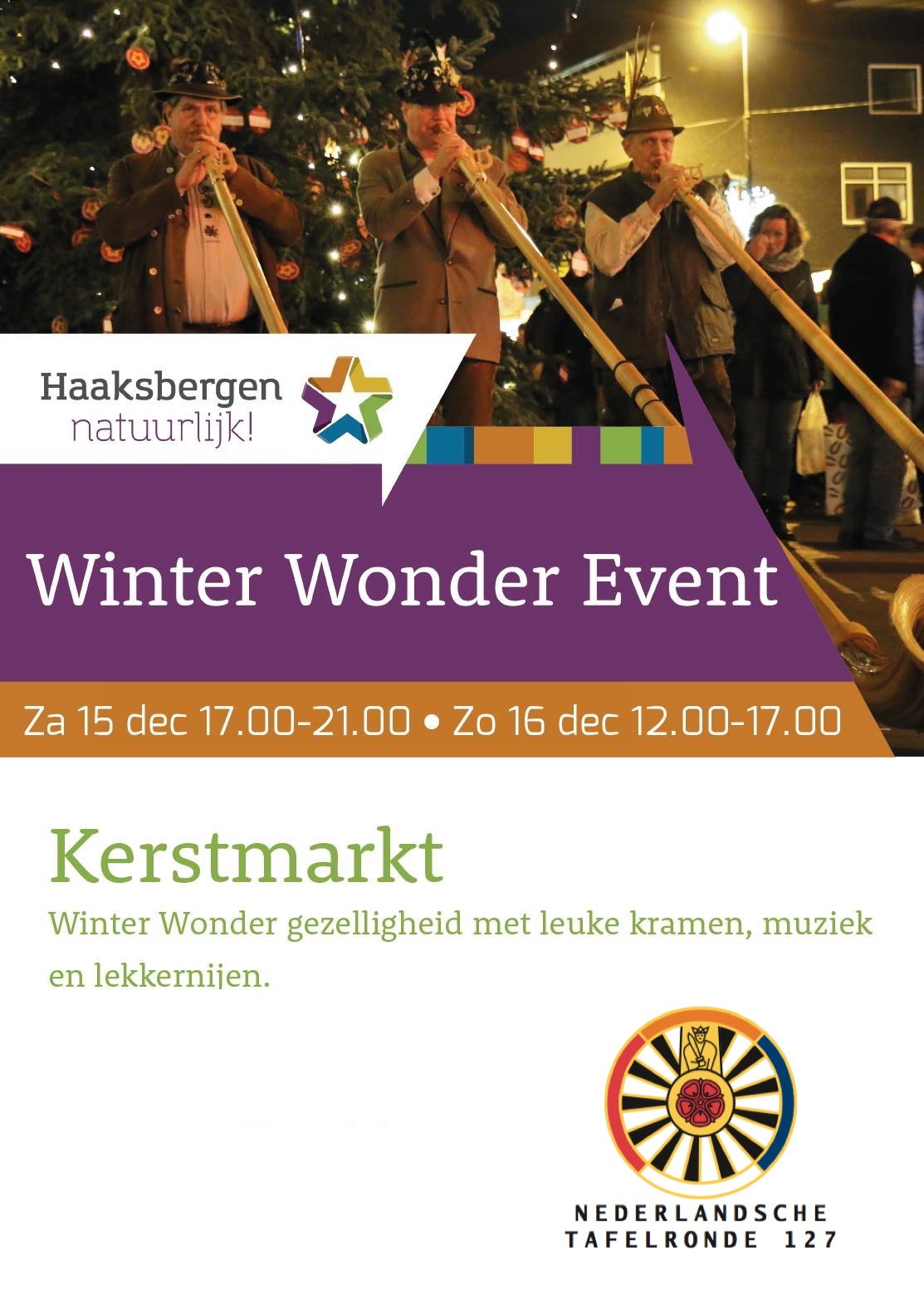 Winter Wonder Event - Ronde Tafel Haaksbergen